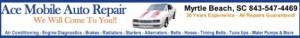 Auto Repair Myrtle Beach by Ace Mobile Auto Service